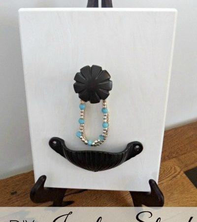 DIY Jewelry Stand Tutorial
