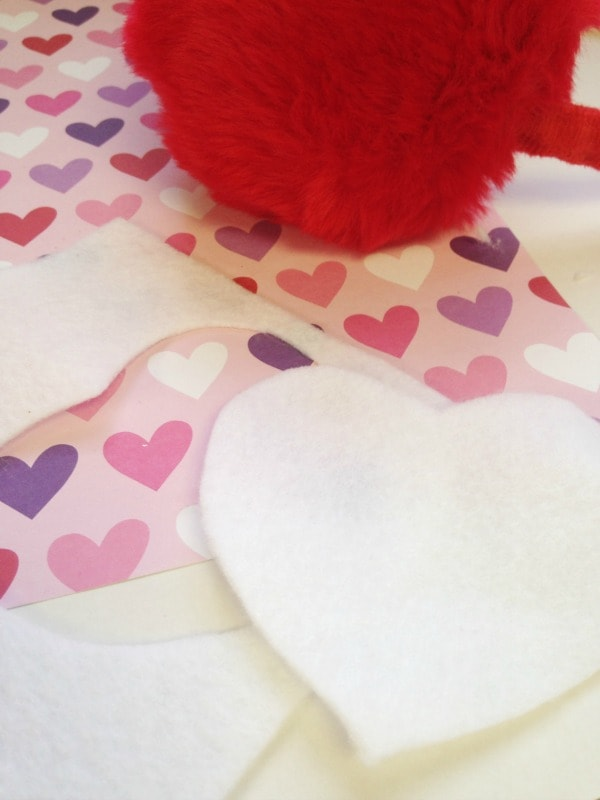 DIY Valentine's Day Ear Muffs