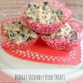 DIY Suet Cupcakes - These DIY suet cupcakes, made with leftover grease, cupcakes cups, and birdseed are a fun and frugal way to attract birds to your yard.