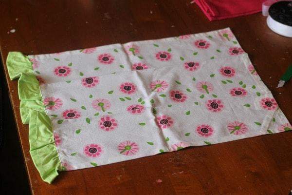 How to make a tea towel apron for kids