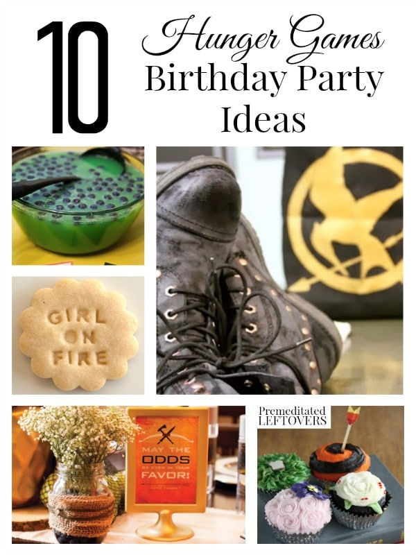 sc 1 st  Premeditated Leftovers & 10 Hunger Games Birthday Party Ideas