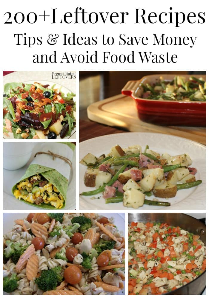 200 Quick and Easy Leftover Recipes - Tips and Ideas to Save Money on Groceries and Avoid Food Waste