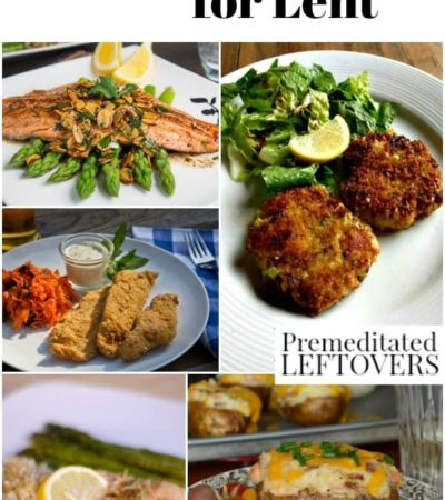 30 Fish Recipes for Lent and Fish Fridays throughout the Lenten Season and year. The seafood recipes are divided up by the type of fish used in the recipe.