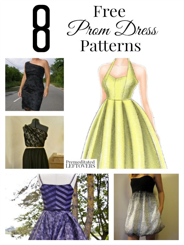 8 Free Prom Dress Patterns
