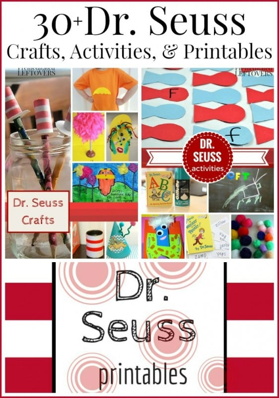 Dr Seuss Day Crafts Activities