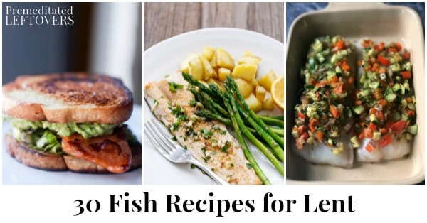 30 Fish Recipes For Lent