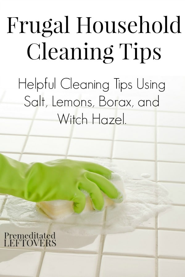 Frugal Household Cleaning Hacks