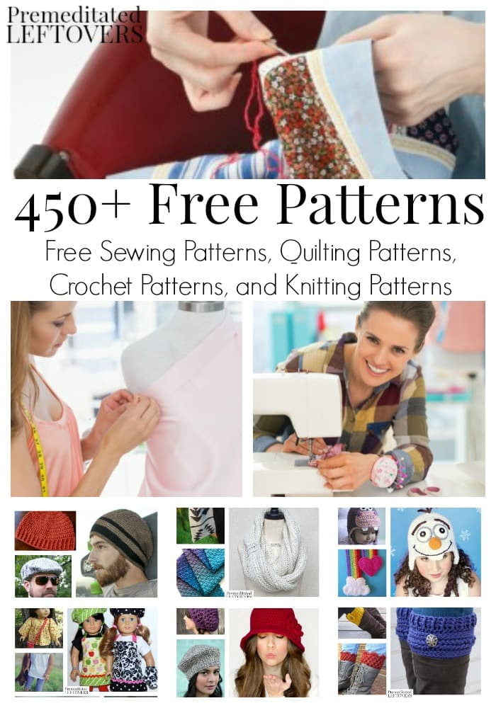 450 Free Patterns