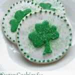 Sugar Cookies for St. Patrick's Day