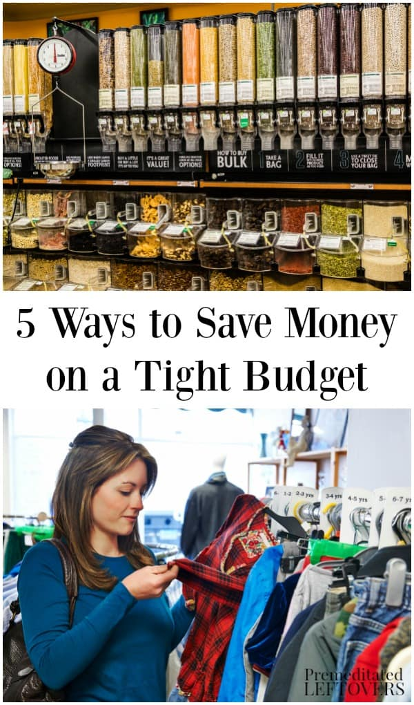 5 ways to save money on a tight budget that will add up to big savings. Black Bedroom Furniture Sets. Home Design Ideas