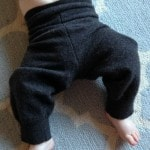 How to Make Wool Baby Pants from an Old Sweater.