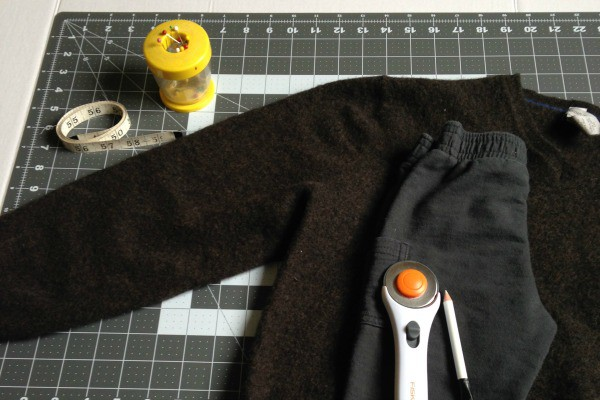 How to Make Wool Baby Pants from an Old Sweater