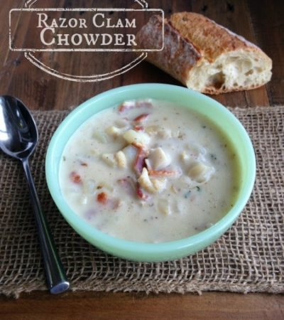 Razor Clam Chowder Recipe