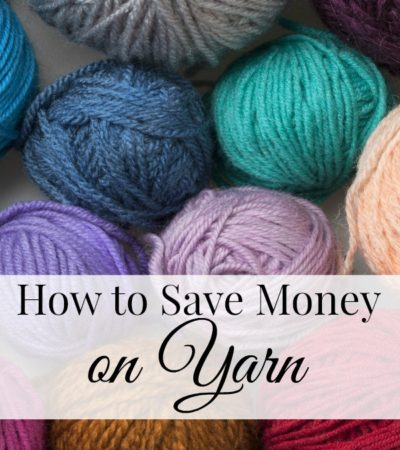 how to save money on yarn