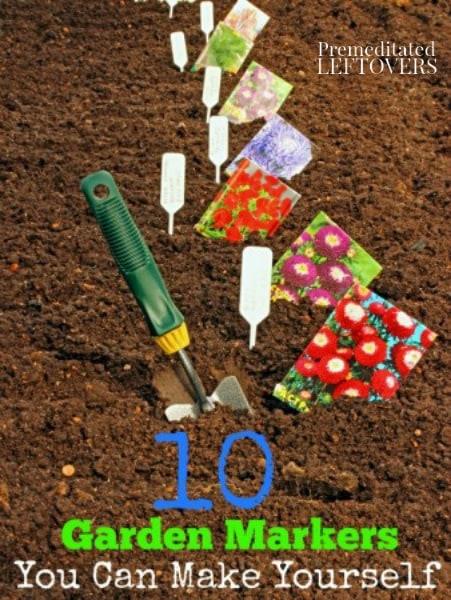 10 Diy Garden Marker Ideas
