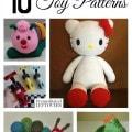 10 Free Knit Toy Patterns
