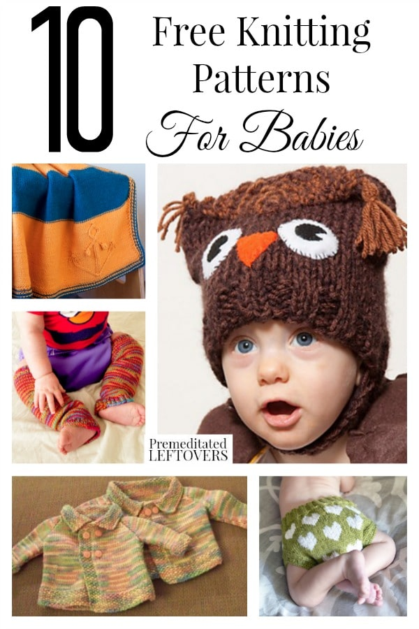 10 Free Knitting Patterns For Babies