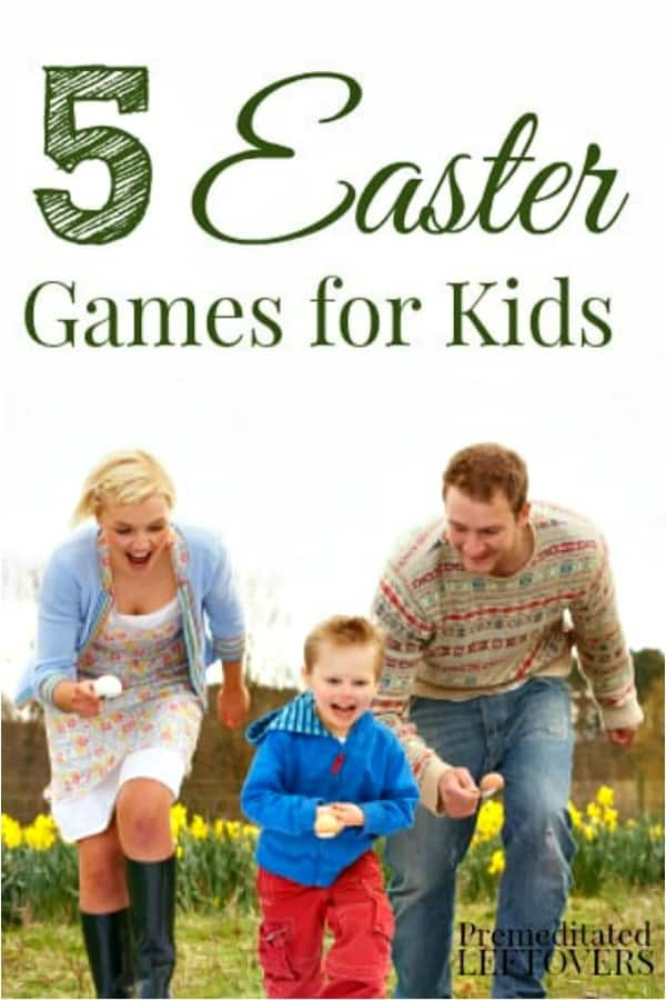5 family-friendly Easter Games for Kids