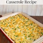 Quick and Easy Chili, Macaroni and Cheese Casserole Recipe