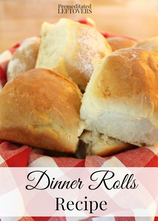 Dinner Rolls Recipe- How to make dinner rolls for Sunday dinner including kneading yeast dough, how to work with yeast rolls and working with yeast bread.