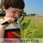 How to Teach Kids Science Skills in the Garden