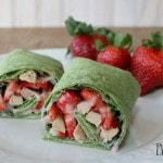 Strawberry and Spinach Wraps Recipe