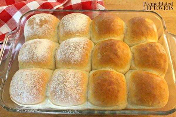 homemade roll recipe