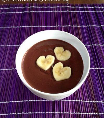 Black Bean Chocolate Pudding