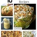 10 Amazing Artichoke Recipes including artichoke appetizer recipes, artichoke dinner recipes, how to cook an artichoke and how to freeze artichokes.
