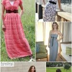 10 Free Maxi Dress Patterns for Women