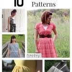 10 Free Maxi Dress Patterns including free patterns for maxi dresses, free summer dress patterns and easy maxi dress patterns for women.