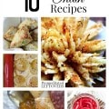 10 Tangy Onion Recipes including a french onion soup recipe, pickled onion recipe, baked bloomin' onion recipe and how to freeze onions.
