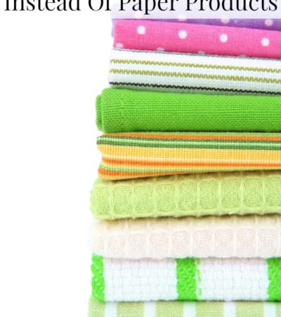 5 Easy Ways To Use Cloth Instead Of Paper Products