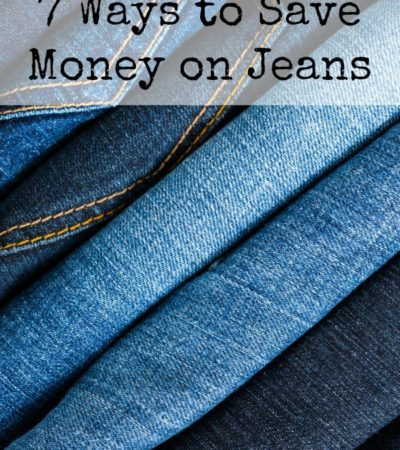 7 Ways to Save Money on Jeans