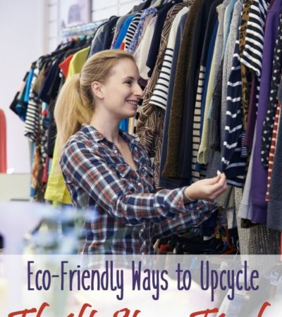 Eco-Friendly Ways to Upcycle Thrift Store Finds - Here are some common thrift store finds that you can repurpose to live green and save money.