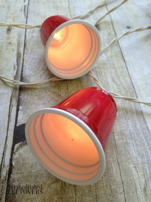 How to Make Red Solo Cup Party Lights