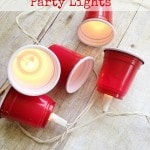 DIY Mini Red Solo Cup Lights