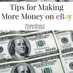 5 Tips for Making More Money on eBay including how to maximize your profits on eBay, how to get your listings seen on eBay and How to stand out on eBay.