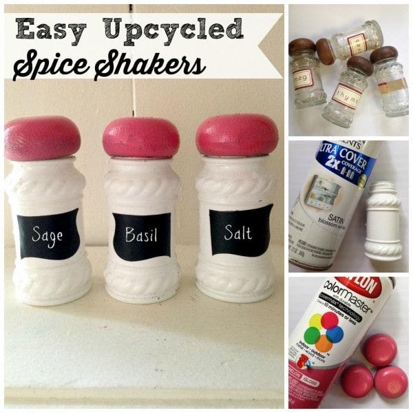 DIY Chalkboard Spice Shakers Tutorial