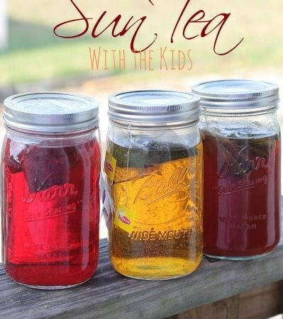 How to Make Sun Tea with Kids