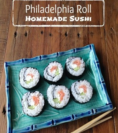 Philadelphia Sushi Roll Recipe