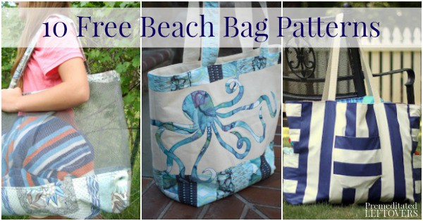 10 Free Beach Bag Patterns