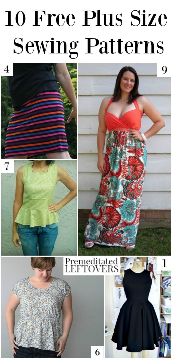 40 Free Plus Size Patterns For Women Extraordinary Free Dress Patterns For Women