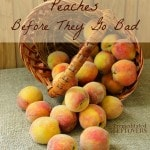 10 Ways to Use Up Peaches Before They Go Bad
