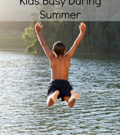 5 Frugal Ways to Keep Kids Busy During Summer