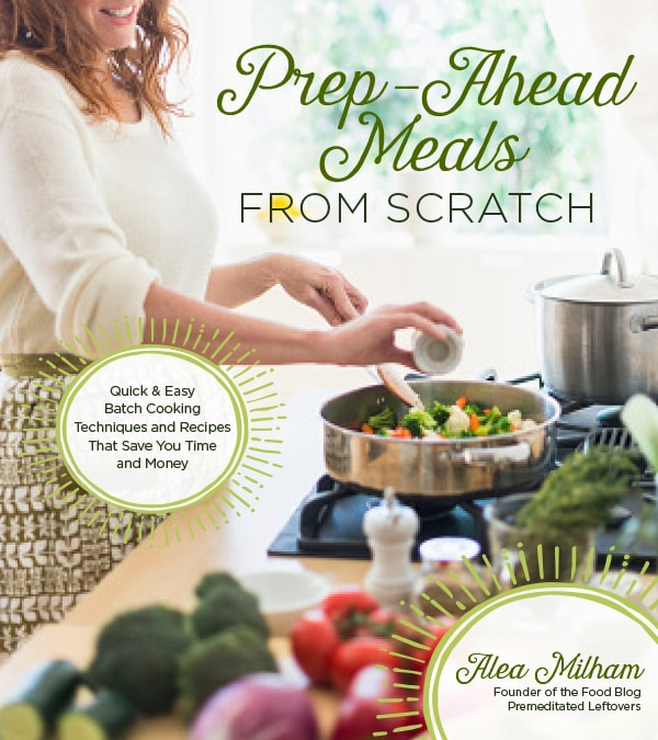 Prep-Ahead Meals From Scratch - Use simple prep-ahead techniques and batch cooking tips to stock your refrigerator with precooked ingredients that can be combined with fresh produce to easily create wholesome meals. Leave packaged foods behind as you learn the many easy ways to cook ahead from scratch to save time and money.