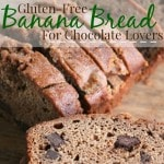 Gluten-Free Banana Bread Recipe with Chocolate