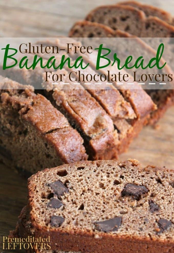 Gluten-Free Banana Bread Recipe with Chocolate