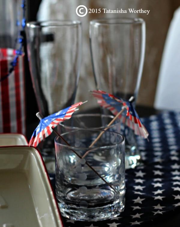 Memorial Day Glass Look