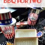 BBQ For Two: Frugal Summer Table Decor Idea